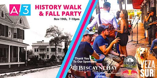 History Walk & Fall Party On Avenue 3