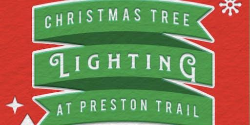 Christmas Tree Lighting at Preston Trail