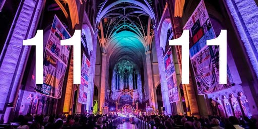'The Sound Healing Symphony' — 11:11 — at Grace Cathedral