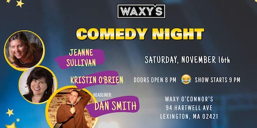 Comedy Night at Waxy's