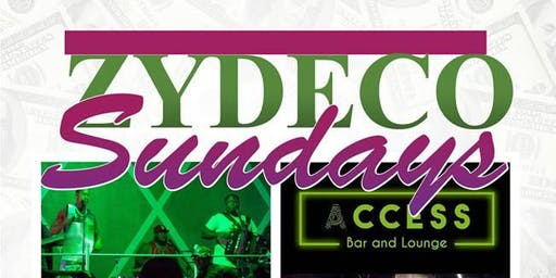 Zydeco Sunday Funday is Back!! Live Bands- No Cover- Book Now