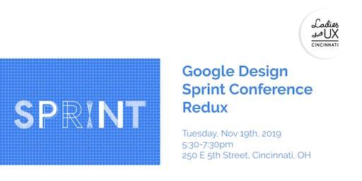 Google Design Sprint Conference Redux
