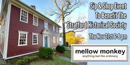 Sip & Shop Event to Benefit Stratford Historical Society