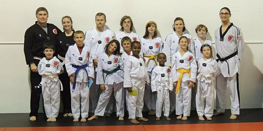 1st CLASS FREE - All Ages - Family Taekwondo Academy