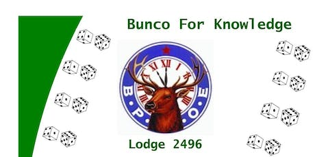 Bunco For Knowledge tickets