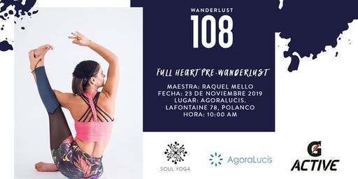 Warm-Up  Full Heart Yoga Sponsored By  G Active