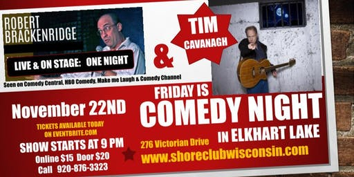 Comedy Night in The Theater at The Shore Club Wisconsin in Elkhart Lake