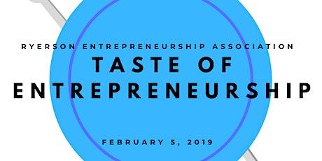 Taste of Entrepreneurship tickets