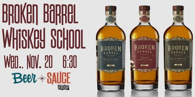 Broken Barrel WhiskeySchool