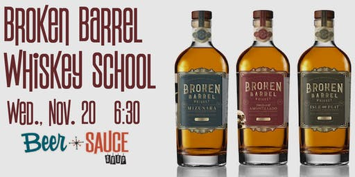 Broken Barrel WhiskeySchool