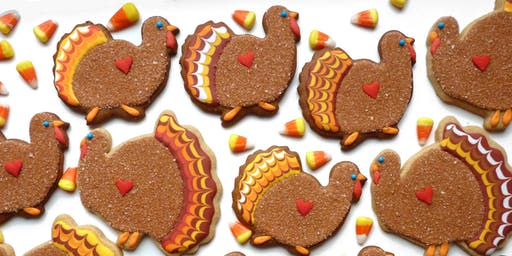 The Gobbler Thanksgiving  Cookie Decorating Workshop for Kids & Adults