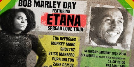 BOB MARLEY DAY tickets