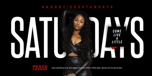 SAGITTARIUS BIRTHDAY BASH #GOODVIBESATURDAYS at PEACE LOUNGE