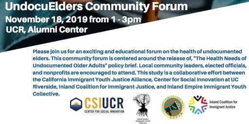 UndocuElders Community Forum