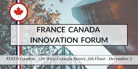 France Canada Innovation Forum tickets