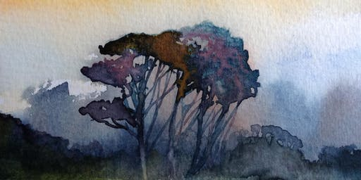 Watercolour and Inks with Lesley Rumble