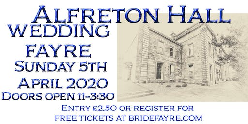 Alfreton Hall Spring Wedding Fayre