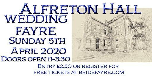 Alfreton Hall Spring Wedding Fayre
