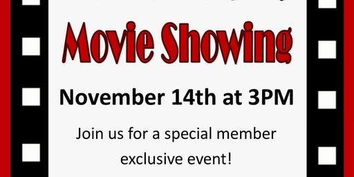 Member's Only Movie Event