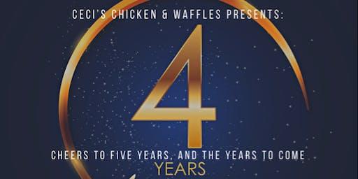 Ceci's Chicken & Waffles 4th Anniversary VIP Party