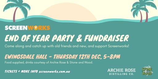 Screenworks End of Year Party & Fundraiser