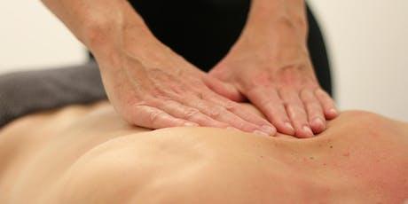 """Massagekurs für """"2"""" Tickets"""
