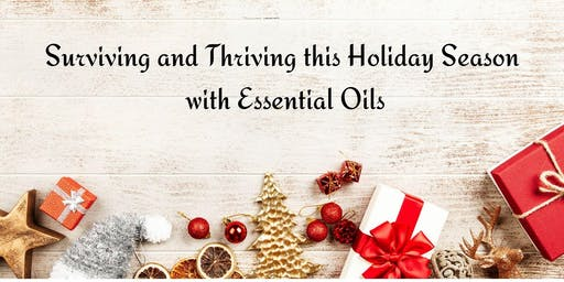 Surviving the Holiday Season with Essential Oils