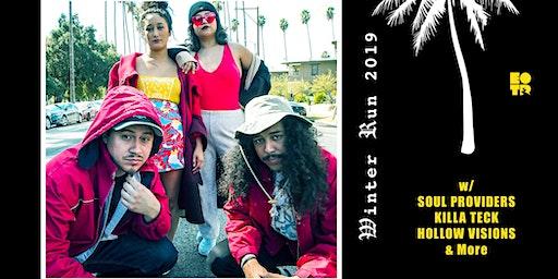 FREE Hip Hop Show in Pomona #EOTRWinterRun