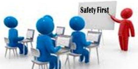 Coordinator Safety Assessment Program (SAP) Training tickets