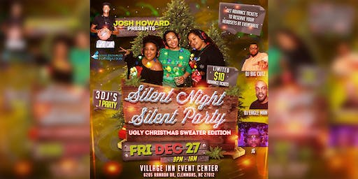 Josh Howard presents   'Silent Night Silent Party""