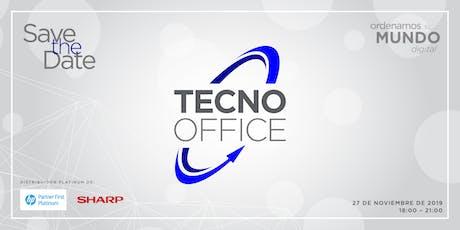 OPENING NUEVAS OFICINAS TECNO OFFICE boletos