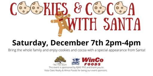 Cookies & Cocoa with Santa 2019