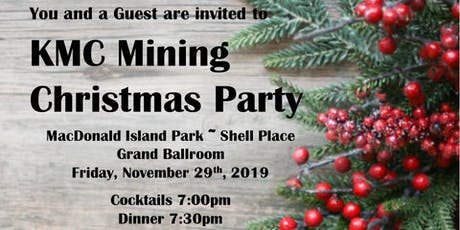 KMC Mining Fort McMurray Christmas Party tickets
