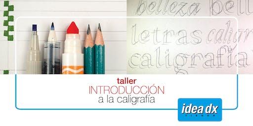 Introducción a la Caligrafía, Taller