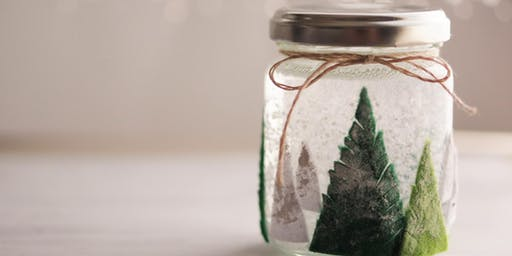 Let it Snow Globe: DIY Globe Making - Cross County
