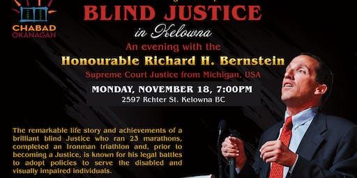 Blind Justice in Kelowna