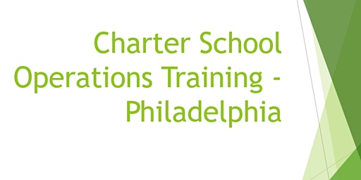 Philadelphia Charter School Operations Training Session