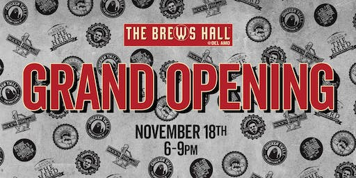 The Brews Hall Grand Opening