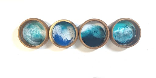 Ocean Resin Bowls