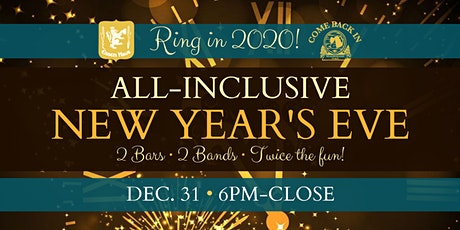 All-Inclusive New Year's Eve at Essen Haus/Come Back In tickets