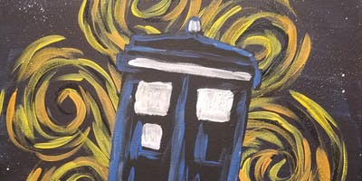 Doctor Who Painting Class