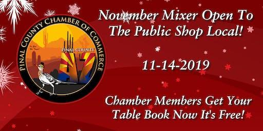 Pinal County Chamber Holiday Vendor Fair and Community Mixer