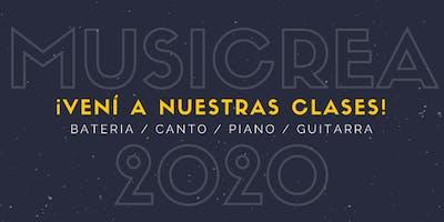 MUSICREA Inscripción 2020