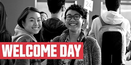 Spring 2020 Welcome Day tickets