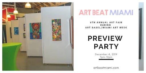 ART BEAT MIAMI Preview Party Art Basel/Miami Art Week 2019