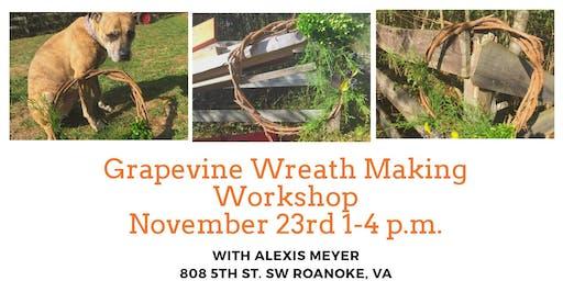 Grapevine Wreath Making Workshop