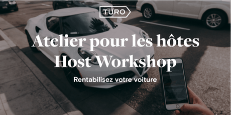 Turo Host Workshop / Atelier pour les hotes Turo - Montreal tickets