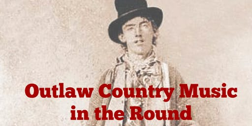Aubrey Entertainment presents… Outlaw Country Music in the Round