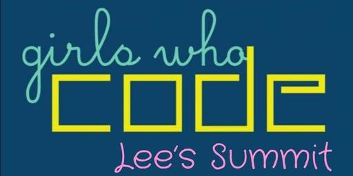 Lee's Summit Girls Who Code Elementary Club -- November 23, 2019