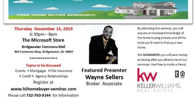 FREE HOMEBUYER SEMINAR - New Jersey